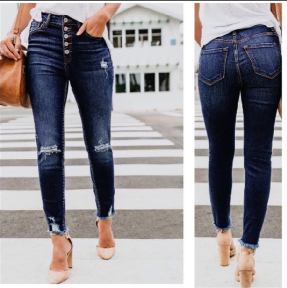 8bd7578123 CLASSIC HIGH WAISTED SKINNY JEANS